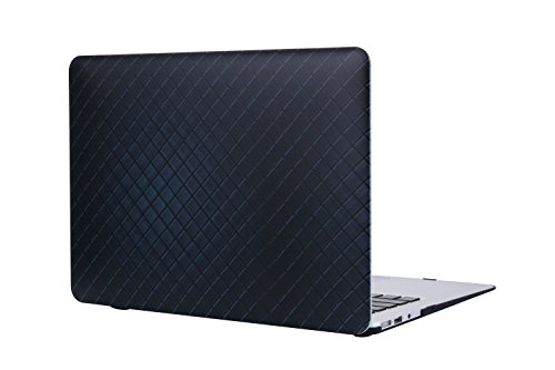 A1425/A1502 Macbook Pro 13 Case Cover, SALMEN Hard Shell Protective Matte Case with Keyboard Cover for Mac book Pro 13 Inch with Retina Display No CD-Rom Driver (Damier Graphite) (Damier Graphite)