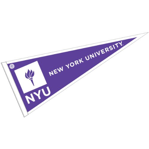 New York University Pennant Full Size Felt