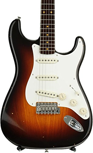 Fender Custom Shop '57 Stratocaster Journeyman Relic, Limited Edition - Chocolate 2-tone Sunburst,