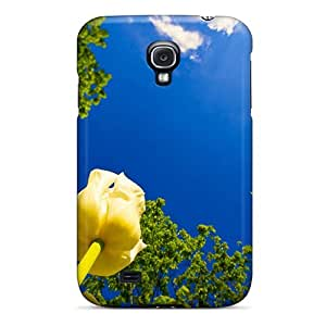 NKp3514BcTy Snap On Case Cover Skin For Galaxy S4(tulip Race)