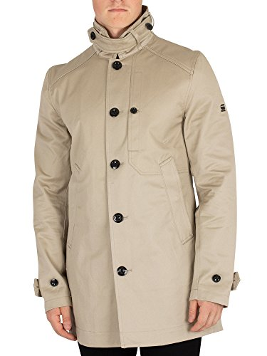 Used, G-Star Men's Garber Trench Coat, Beige, Medium for sale  Delivered anywhere in USA