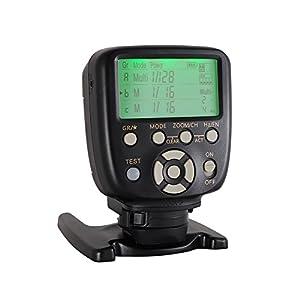 CONTROLADOR REMOTO DE DISPARO POR FLASH YONGNUO YN560-TX II LCD para Nikon y YN560IV/III YN660 con función de despertador para cámaras Nikon