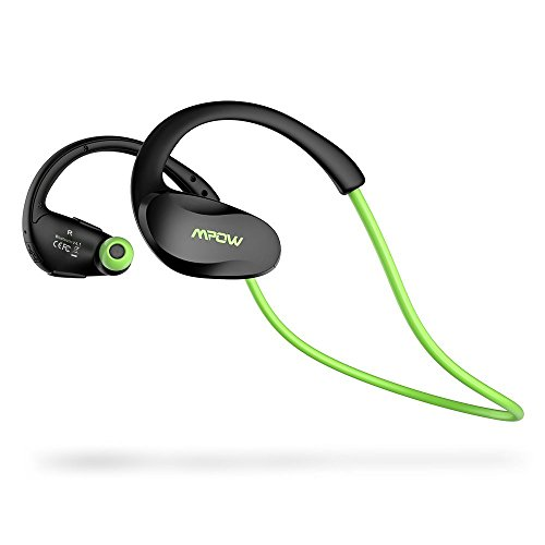 c4c33a31d95 Mpow Cheetah Bluetooth Headphones, V4.1 Wireless Sport Headphones,  Sweatproof Running Headset with Built in Mic for Workout Exercise (IPX5  Splash Proof ...