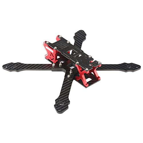 DLFPV 210mm FPV Drone Full Carbon Fiber Frame Kit 4-Axis Racing Quad Frame for Mini Racing Quadcopter DIY Drone Racing Multirotor