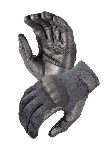 Hatch SOG-HKL100 Operator Hard Knuckle Leather Glove, Black, (Small Hatch)