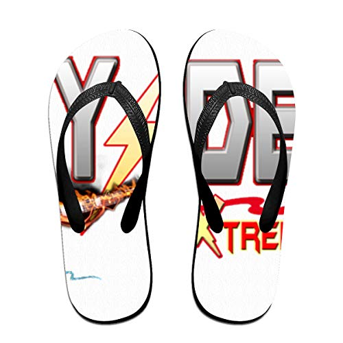 Towilliamsnya Black Funny Slippers ACDC S Coolest Slippers House Slippers for Women & Men
