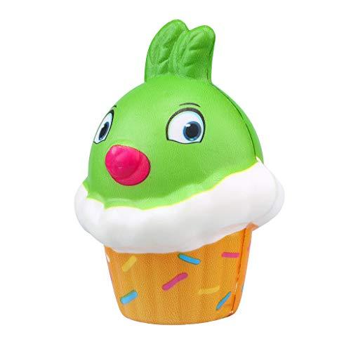 NOMENI Slow Rebound Decompression Toy, Kawaii Cute Chicken ice Cream Cake Slow Rise Cream Fragrance Pressure Toy Gift