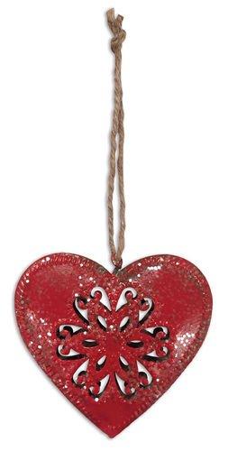 Sunset Heart - Sunset Vista Christmas Heart Ornament