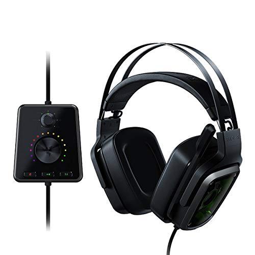 IDS Home Tiamat 7.1 V2 True 7.1 Surround Sound Headphones Headset - Black