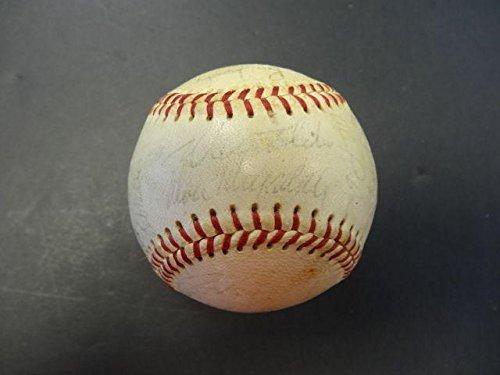 25-1965-Los-Angeles-Dodgers-Team-Signed-Baseball-Autograph-Auto-Z99801-PSADNA-Certified-Autographed-Baseballs