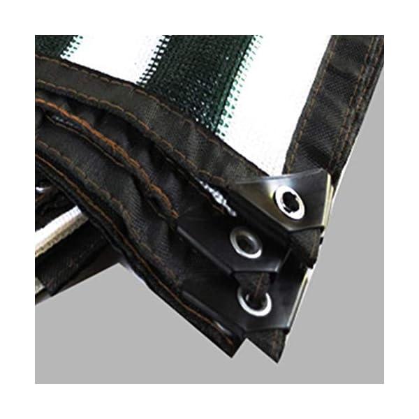 Telo protettivo per protezione solare in polietilene rinforzato, 1 metro, 1 asola esterna per balcone, 18 misure (colore… 4 spesavip