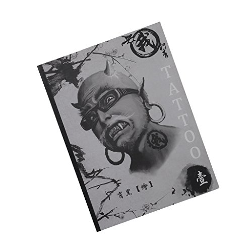 Generic 100 Pages A4 Mixed Skull Devil Design Tattoo Art Book Flash Sketch Supplies