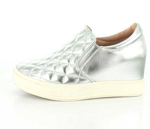 Sneaker Bushkill Women's Wedge Silver Wanted wS4zq4