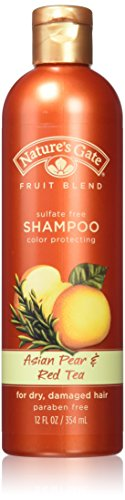 Nature's Gate Organics Fruit Blend Shampoo, Asian Pear and Red Tea, 12 Ounce (Pack of ()