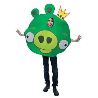 Angry Birds King Pig Green Costume
