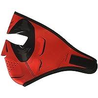 ZANheadgear Neoprene Full Face Mask, Red Dawn