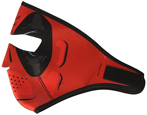 (Zanheadgear WNFM109 Adult/Unisex Full Mask (Neoprene, Red Dawn))