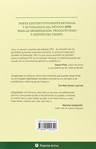 Organizate con eficacia - Edicion revisada (Spanish Edition)
