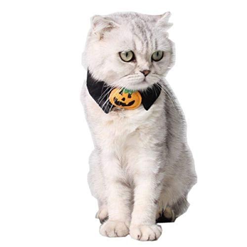 Assorted Halloween Cat Dog Kitten Puppy Pet Bow Ties Adjustable Neckties Party -