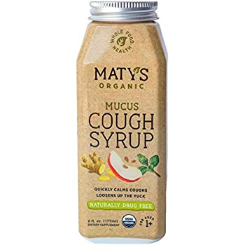 Amazon.com: Matys Organic Mucus Cough Syrup, 6 Fluid Ounce