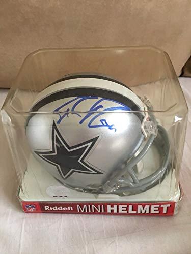 (Tony Romo Autographed Signed Dallas Cowboys Mini Football Helmet -Coa Beckett-9 Collectables)
