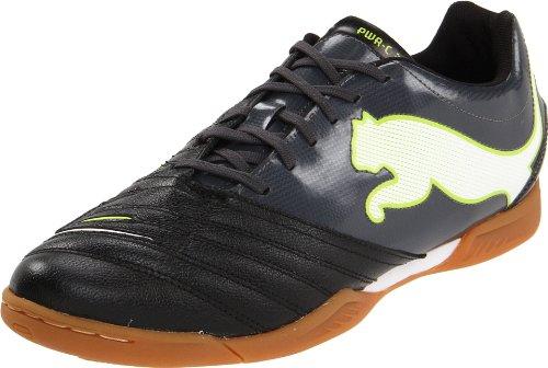 Puma Heren Powercat 3.12 It Indoor Trainer Zwart / Donker Schaduw / Wit / Lime Punch