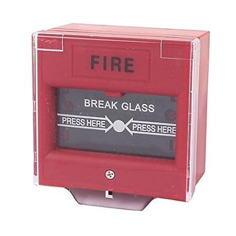 Plaza Roja DealMux rompa el vidrio de alarma de incendio ...