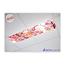 Flower 006 1x4 Flexible Fluorescent Light Cover