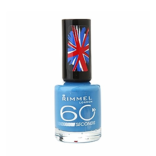 NEW Rimmel 60 seconds One-Coat Nail Polish 240 Blue My - Stores Clackamas