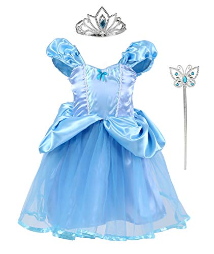 Tutu Dreams Princess Cinderella Costume for Toddler Girls