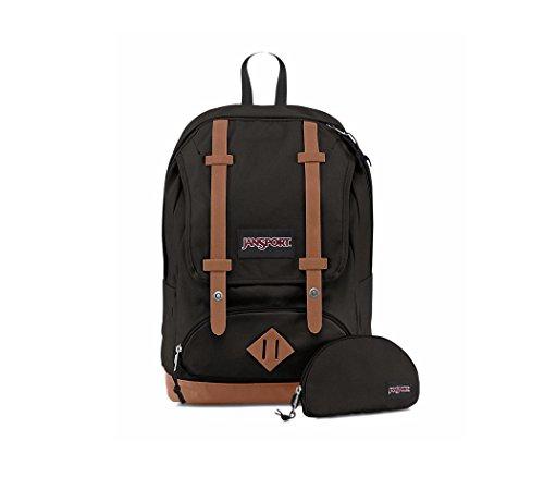 JanSport Baughman Backpack (Black Canvas)
