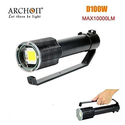 Pegasus ARCHON D100W 100W LED 10000LM Professionelle Tauchen LED Taschenlampe