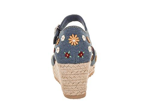 Femmes Denim Sandale Cali Les Monarques Femmes Des Les Denim Fièvre Skechers Skechers Des Monarques xPvU8qB4