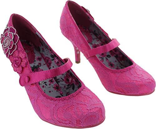 Joe Couture para Vestir Rosa Zapatos Mujer Browns Sintético de de rZwgqrP