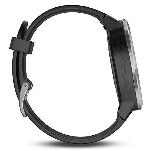 510OXHVEGUL Garmin vívoactive 3 GPS Smartwatch - Black & Stainless