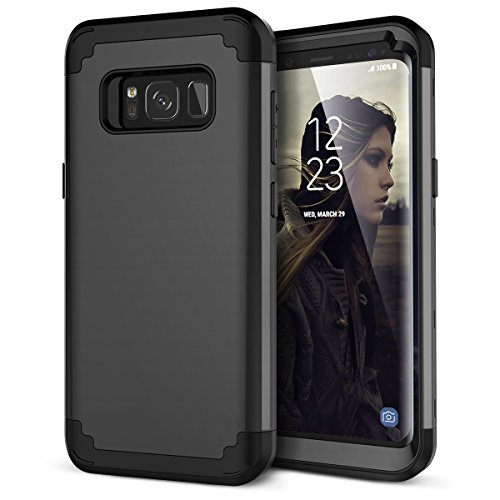 Galaxy S8 Plus Case, WeLoveCase Hybrid Heavy Duty Shockproof Military Armor Protective Case Dual Layer High Impact Protection Case with Extra Conner Cushion Bumpers for Galaxy S8 Plus