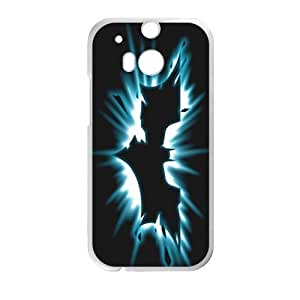 DAZHAHUI Shiny black bat Cell Phone Case for HTC One M8