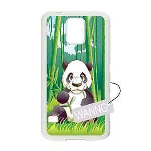 Panda Samsung Galaxy S5 I9600 Phone Case, Panda DIY Case for Samsung Galaxy S5 I9600 at WANNG