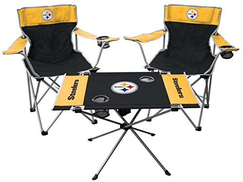 Rawlings NFL Pittsburgh Steelers Tailgate Kit, Team Color, One Size