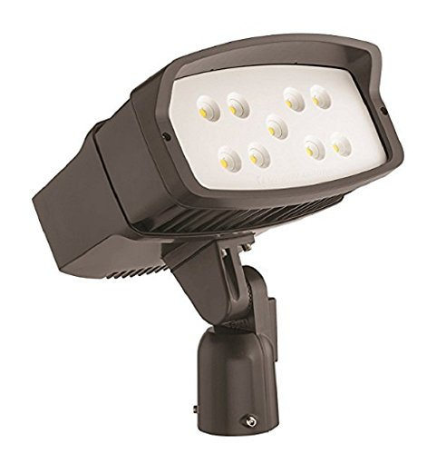 Lithonia Lighting OFL2 LED P2 50K MVOLT IS DDBXD M2 Led Size 2 Floodlight with P2 Performance Package, Slipfitter Mount, MVOLT, 5000K, 10,200 Lumens (Floodlight Metal Slipfitter Mount Halide)
