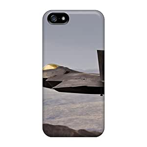 High Quality Williams6541 Lockheed Martin F 22 Raptor Skin Case Cover Specially Designed For Iphone - 5/5s