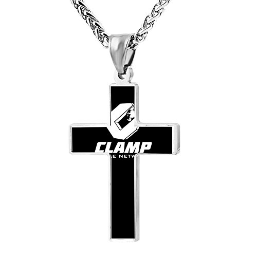 Kenlove87 Patriotic Cross Cable Network Religious Lord'S Zinc Jewelry Pendant Necklace -