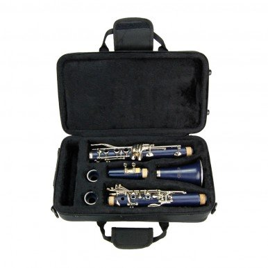 Blue ABS Clarinet for Band Students Beginners Starter Adult Teen Kids by Merano