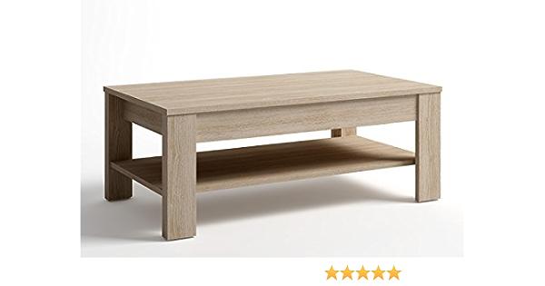 LIQUIDATODO ® - Mesa de centro elevable moderna y barata de 110X60 cm color Sable: Amazon.es: Hogar