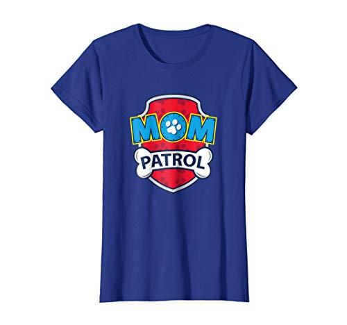 Womens Funny Mom Patrol T-Shirt   Dog Mom Tee Medium Royal Blue