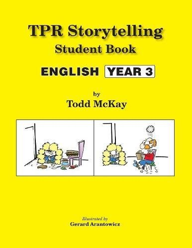 TPR Storytelling Student Book: English - Year 3