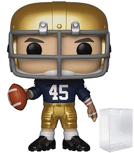 Dame Notre Game - Funko Movies: Rudy - Rudy Pop! Vinyl Figure (Includes Compatible Pop Box Protector Case)