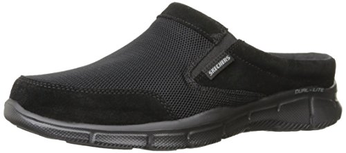Skechers Sport Men's Equalizer Coast To Coast Mule, Black, 11 M US 51519