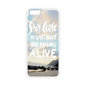 "Custom Colorful Case for Iphone6 Plus 5.5"", Let's Run Away Cover Case - HL-496023"