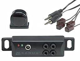 Sanus IR Repeater - Conceal AV Components Behind closed AV Furniture Doors- ELM501